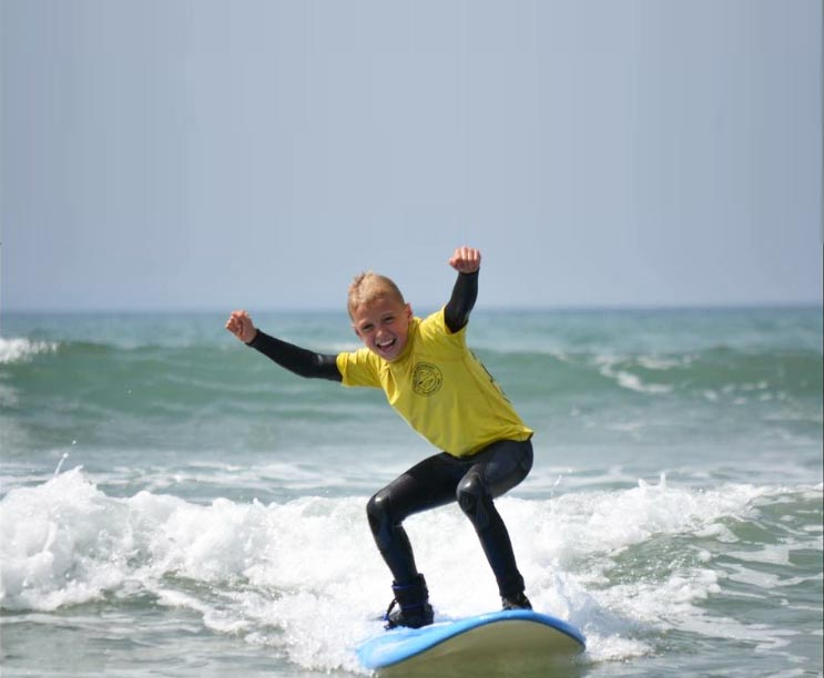 If you want to beat the blues, catch a wave!