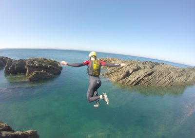 north devon water sports coasteering croyde
