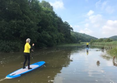 paddle boarding north devon