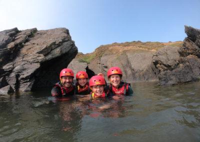 north devon water sports, coasteering croyde adventure
