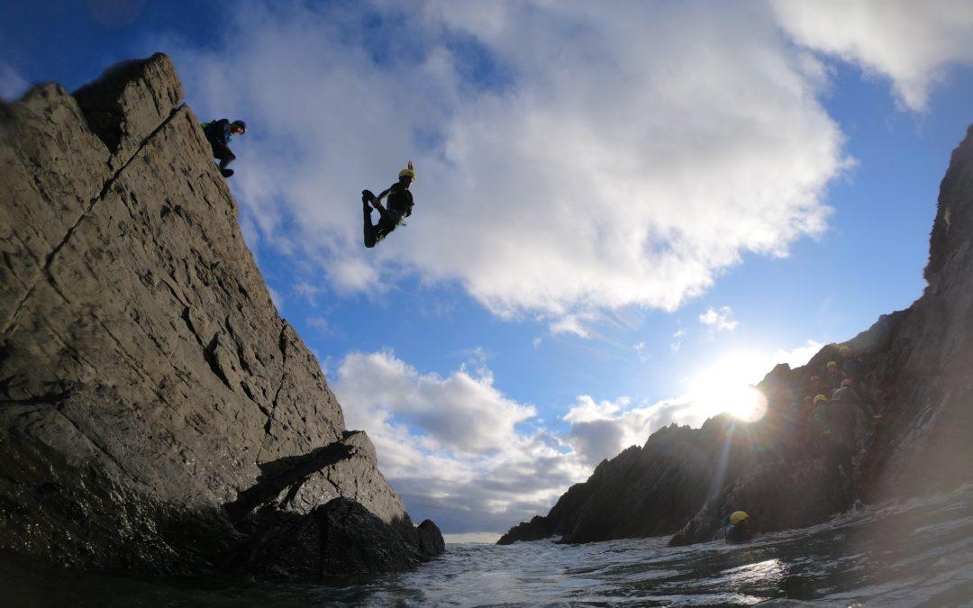 coasteering croyde