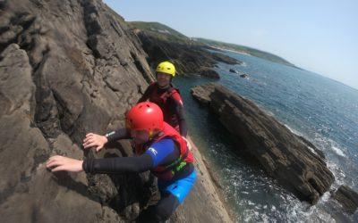 The four coasteering skills
