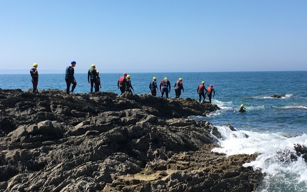 The History of Coasteering